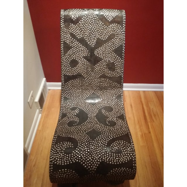 African Accent Chair - Image 3 of 6