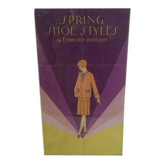 Vintage Endicott-Johnson Advertising Poster