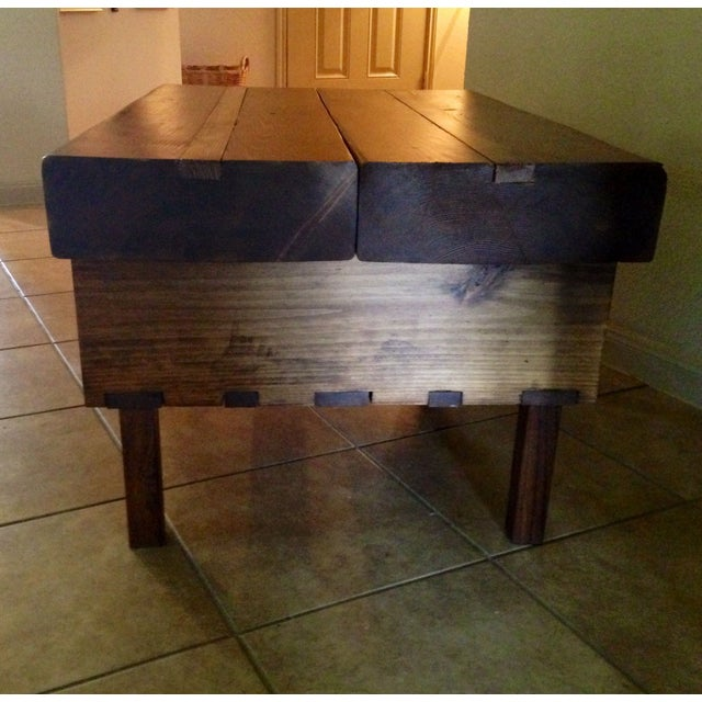 Reclaimed Douglas Fir Beam Coffee Table