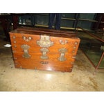 Image of Antique Asian Drop Front Chest