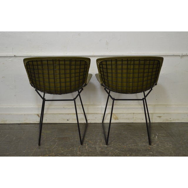 Bertoia for Knoll Mid Century Wire Side Dining Chairs - Set of 12 - Image 4 of 10