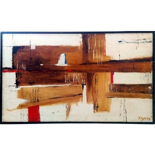 "Mid Century Abstract by ""Raymond"""