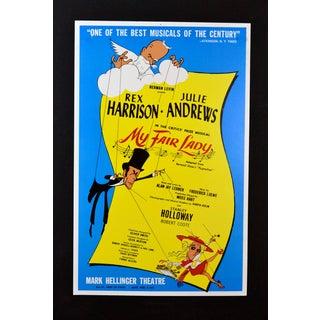 """My Fair Lady"" Play Poster, Artwork by Hirschfeld"