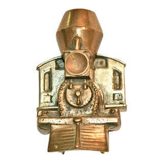 1970s Locomotive Door Knocker