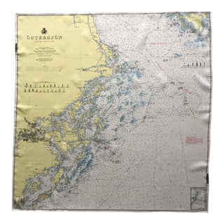 Pilots Scarf Map of the Baltic Sea and the Swedish Coast