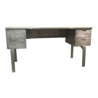 Vintage Aluminum Military Campaign Desk