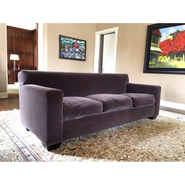 Image of Contemporary A. Rudin Mohair Sofa