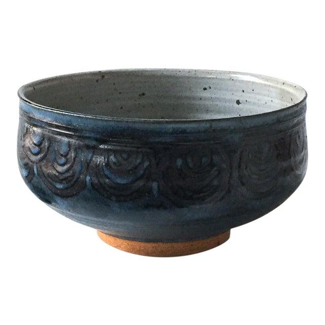 Signed Gerry Williams Mid-Century Stoneware Bowl - Image 1 of 5