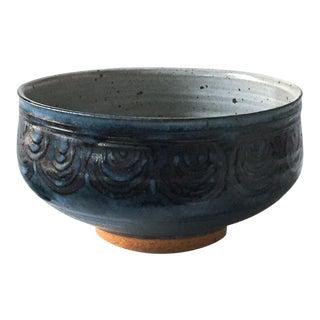 Gerry Williams Mid-Century Stoneware Bowl