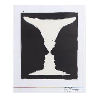 Jasper Johns Cup 2 Picasso Lithograph