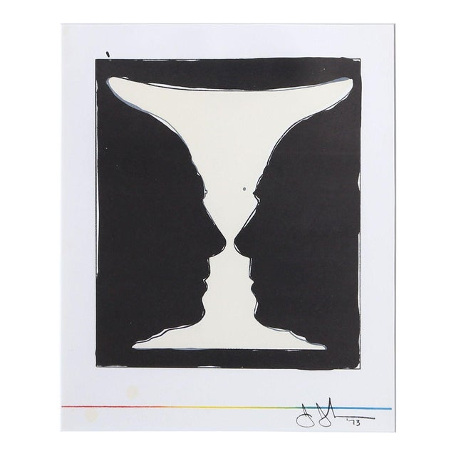 Jasper Johns Cup 2 Picasso Lithograph - Image 1 of 3