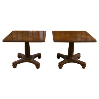Heritage Neoclassical Grouping Tables - A Pair