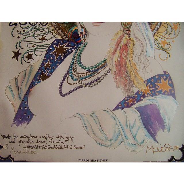 Mousie 'Mardi Gras Eyes' Poster - Image 5 of 6