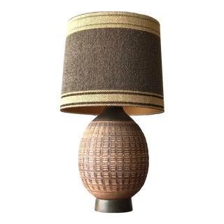 Bob Kinzie Hand-Thrown Lamp