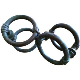 Bronze Double-Sided Door Pulls - A Pair
