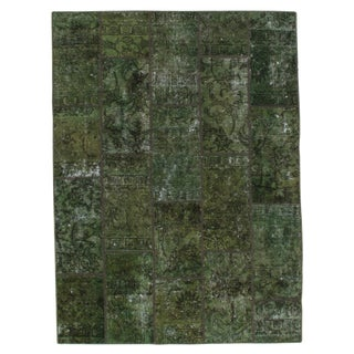 Pasargad N Y Persian Patch-Work Decorative Hand-Knotted Area Rug- 5'x6'9""