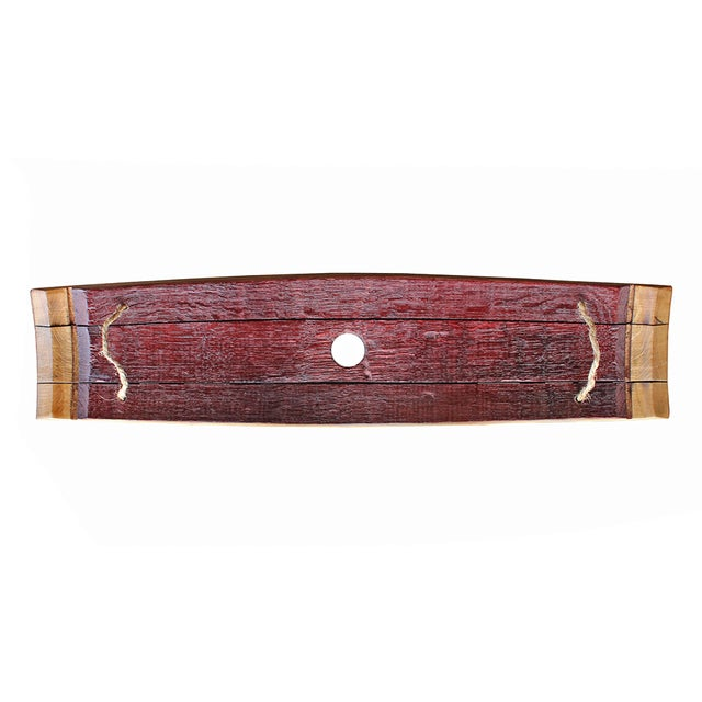 Salvaged Wine Barrel Stave Tray - Image 3 of 4