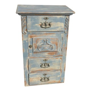 Distressed View Vanity Cabinet