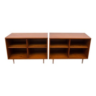 George Nelson for Herman Miller Teak Shelves - A Pair