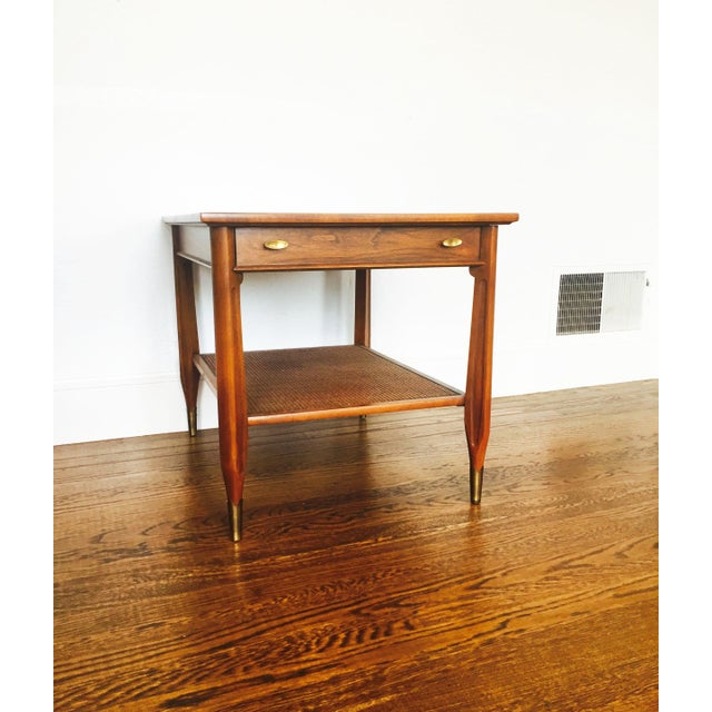 Image of Imperial Mid-Century Wood Side Table