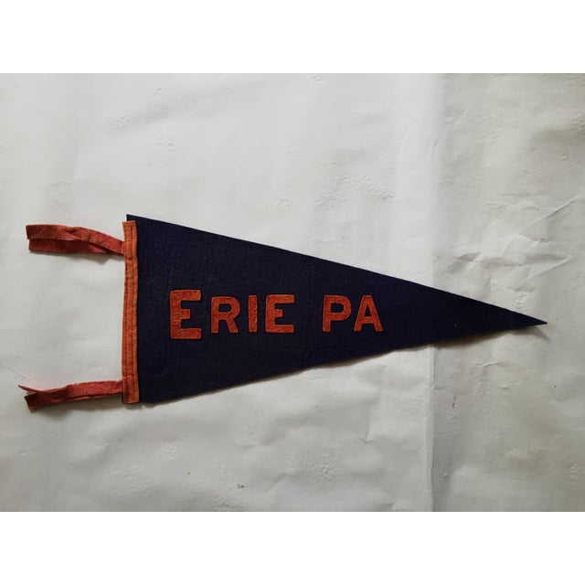 Erie, PA Vintage Pennant Flag - Image 2 of 3