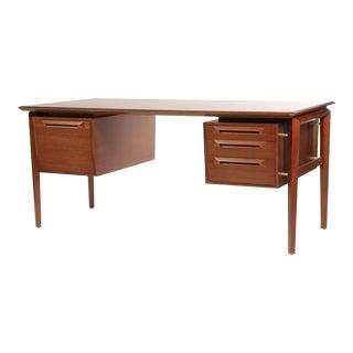 Ib Kofod-Larsen Teak Executive Desk