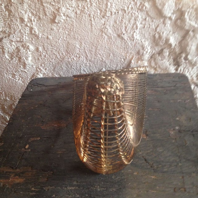Image of Vintage Wire Cornucopia