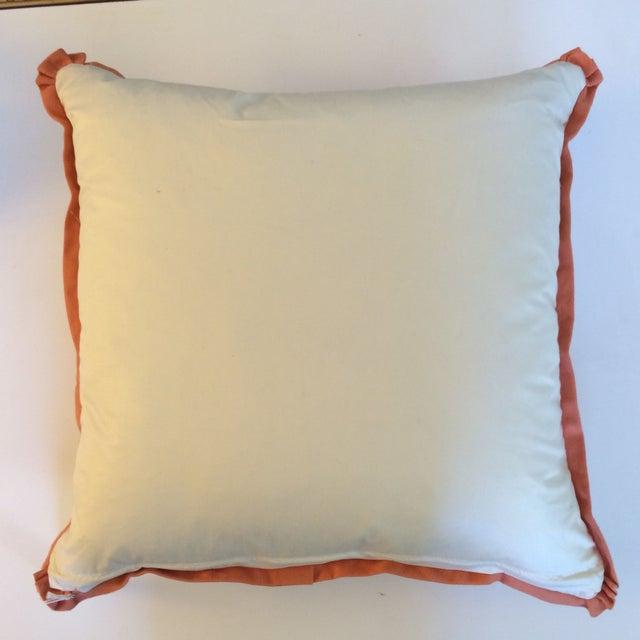 Orange Koi Pillows - A Pair - Image 4 of 4