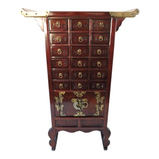 Korean Tansu Chest with Drawers