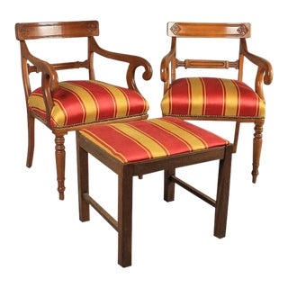 French Regency Style Chairs - A Pair