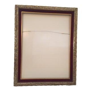 Mid-Century Gold Vintage Frame