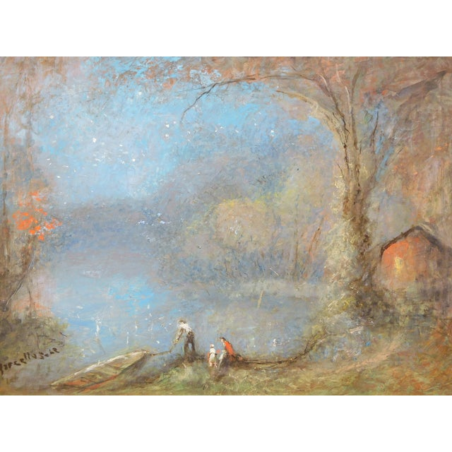 """HA Marcellus 1959 """"Stars of the Autumn"""" Painting - Image 1 of 4"""