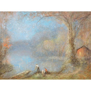 """HA Marcellus 1959 """"Stars of the Autumn"""" Painting"""