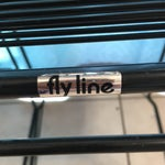 Image of Giandomenico Belotti Black Fly Line Spaghetti Bar Stools- A Pair