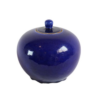 Indigo Ceramic Pot