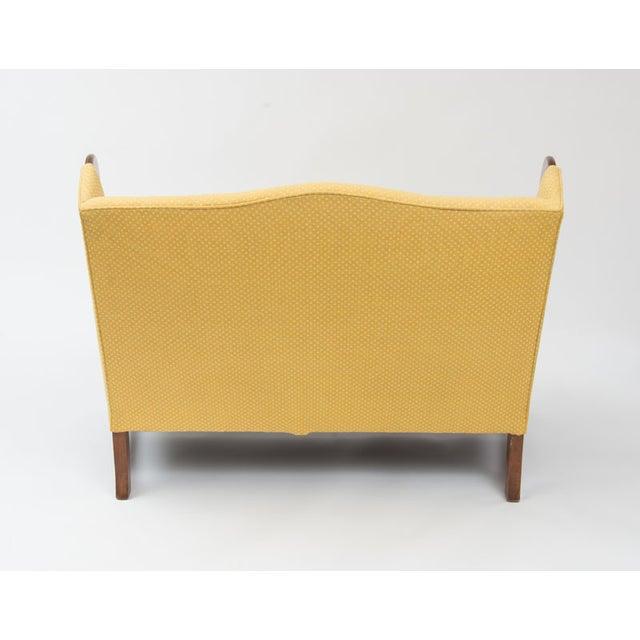 Original 1970s Stickley Love Seat In Yellow Fabric Chairish