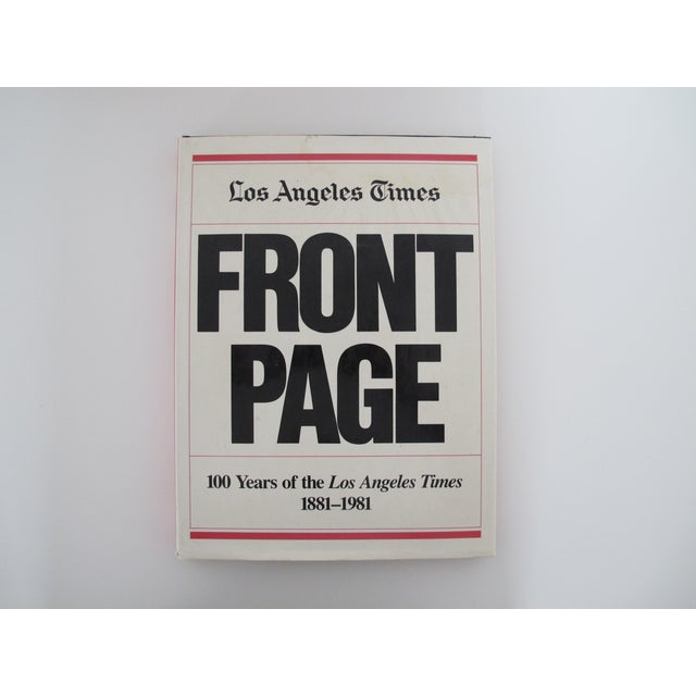 Los Angeles Times: Los Angeles Times Front Page Hardcover