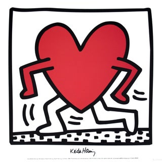 Keith Haring Untitled (1984) Poster