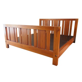 Solid Indonesian Teak King Size Bedframe