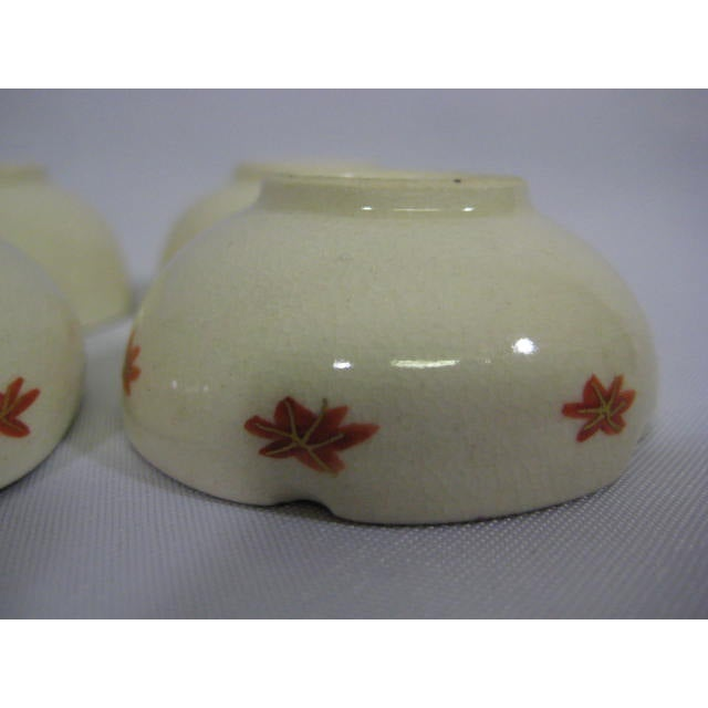 1900s Japanese Satsuma Open Salt Cellars/Dips - Image 8 of 10
