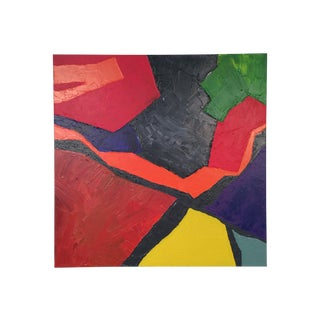 Large Original Geometric Abstract