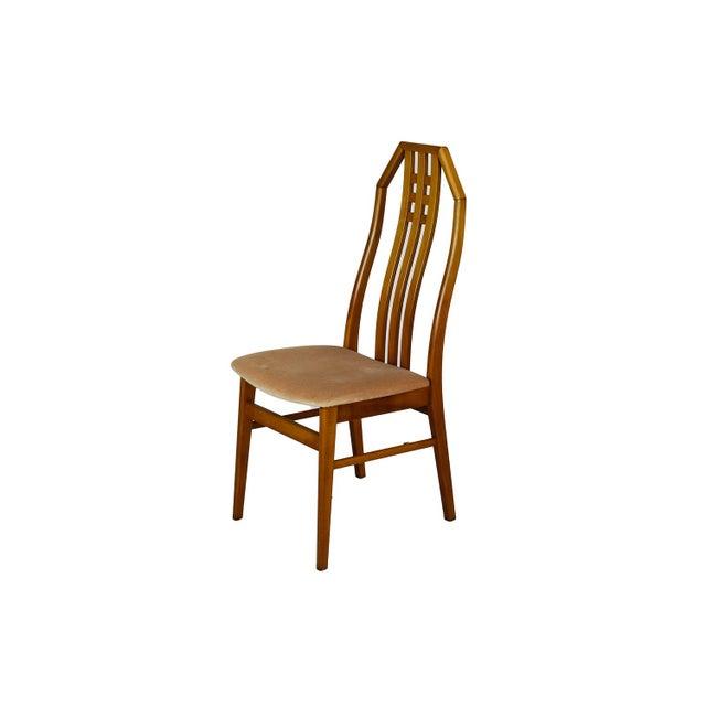 Image of Danish Beechwood Dining Chairs - Set of 10