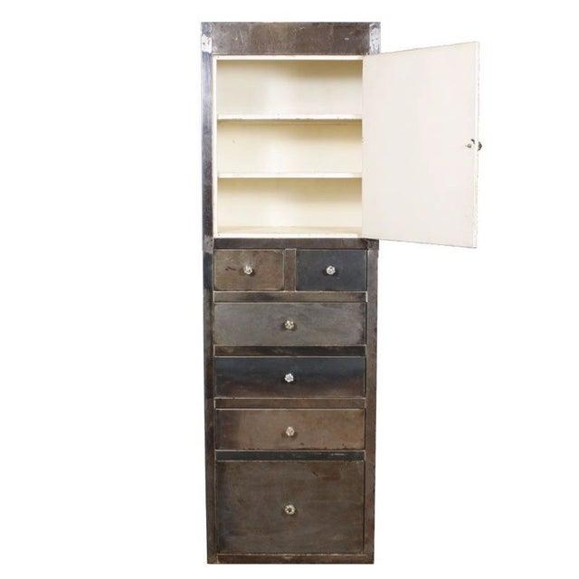 Image of Vintage Industrial Medical Cabinet