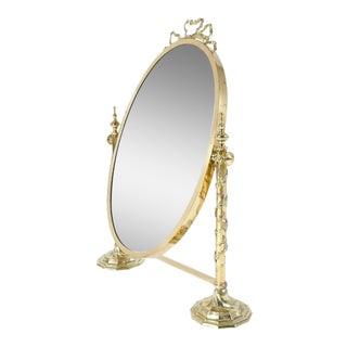 Italian Style Glass Vanity Mirror