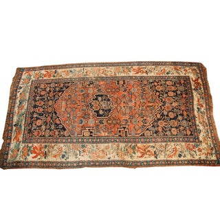 "Antique Bijar Rug - 3'8"" x 6'10"""