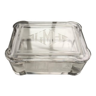 Art Deco Dresser Glass Box