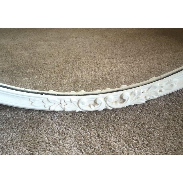 Image of Shabby Chic Circle Mirror