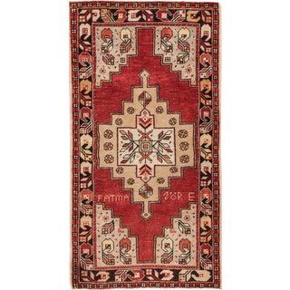 "Apadana - Vintage Anatolian Rug, 3'6"" x 6'5"""