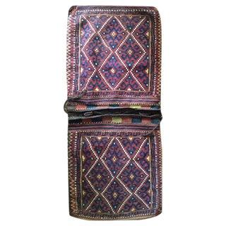 Wool Saddle Bag
