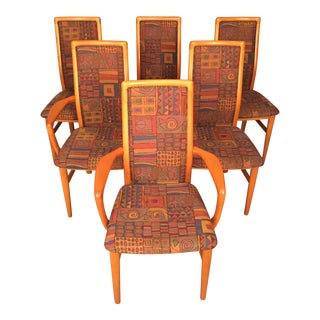 Mid-Century Danish Dining Chairs - Set of 6
